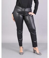461dddc89f41 e-xclusive Γυαλιστερό παντελόνι για μεγάλα μεγέθη