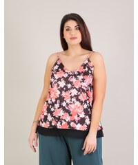 4b26ce5aaa0b Miss Pinky Τοπ μπούστο floral - ΜΑΥΡΟ 106-1077 - Glami.gr