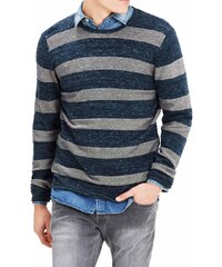 c9ac04399ec3 Jack Jones - 12116464 - Carlos Davey Knit - Blue - Μπλούζα πλεκτή
