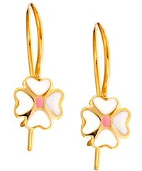 Paraxenies Παιδικό μοντέρνο ζευγάρι σκουλαρίκια από χρυσό Κ14 70660198434