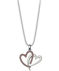 Paraxenies Κολιέ συλλογή Love καρδιά από ασήμι με πέτρα Swarovski ... caafc85501a