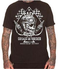 807390fb24ca Dragstrip Ανδρικό κοντομάνικο t-shirt - CHECKER WRECKER - Dragstrip - Μαύρο  - DGS1002