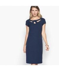a29f7147bf9c Numoco 70071 NU Κοντομάνικο μίνι φόρεμα με φερμουάρ - κόκκινο - Glami.gr