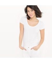 LA REDOUTE COLLECTIONS Κοντομάνικη μπλούζα εγκυμοσύνης με στρογγυλή ... 3dcc4016dde