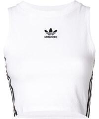 66459f5c1368 Adidas cropped tank top - White