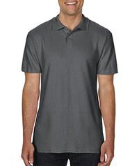 Ανδρική Μπλούζα Double Pique Polo Softstyle Gildan 64800 - Charcoal 1e502b7fde5