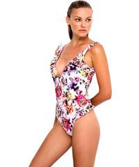 Μαγιό BLU4U Ολόσωμο Romantic Floral - Ενίσχυση   Βολάν - Bikini Κοφτό 27c8b491673