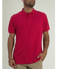 Battery Ανδρική κόκκινη Polo μπλούζα μονόχρωμη κοντομάνικη 101001481C 9e4b853fa8a