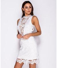Modaboom Μινι Φόρεμα Βελουτέ με Δαντέλα - 16119 - Glami.gr 68778b3c861
