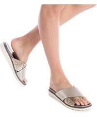 Γυναικείες παντόφλες και σαγιονάρες χωρίς τακούνι - Glami.gr 06d300b64c0