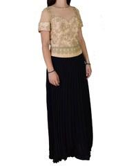 e2b7e8029f73 Maxi Αμπιγιέ Φόρεμα Women s Style 1793 Χρυσό Μαύρο womens style 1793 xryso  mayro