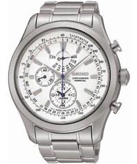 Ρολόι Seiko χρονογράφος με ασημί μπρασελέ SPC123P1 5d3b818c44d