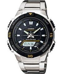 Ηλιακό ρολόι Casio Collection με ασημί μπρασελέ AQ-S800WD-1EV 894faf5f5b1
