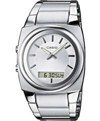 Ρολόι Casio Collection ημερομηνίας με ασημί μπρασελέ MTD-1053D-2AV ... dfa34fd6ad5