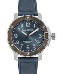 Ρολόι Nautica NMS 01 με μπλέ λουράκι και ημερομηνία NAD15012G 9db0fadbda6