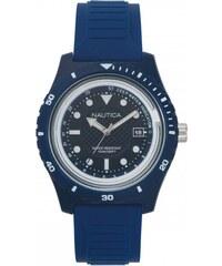 Ρολόι Nautica Ibiza βυθόμετρο με μπλε λουράκι και ημερομηνία NAPIBZ005 f9c4fa97d9d