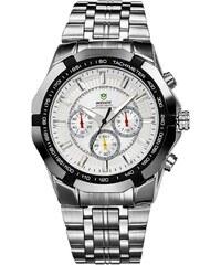 Ρολόι Weide με ασημί μπρασελέ WD10292 c4b5c11e487