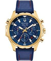 bec40fa04f Ρολόι Bulova Sport Marine Star χρονογράφος με μπλε λουράκι 97B168