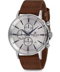Ρολόι Daniel Klein Exclusive πολλαπλών ενδείξεων με καφέ λουράκι DK11701-5 14a9bf609bb