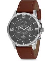 Ρολόι Daniel Klein exclusive πολλαπλών ενδείξεων με καφέ λουράκι DK11761-4 14e691934cb