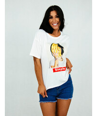 style T-shirt με print  simple 2614cc67ec6
