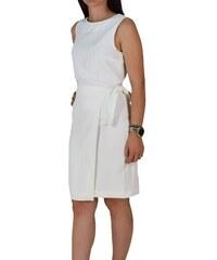 dc7048893a8 Μίντι Αμάνικο Φόρεμα Passager 76015 Λευκό passager 76015 leyko