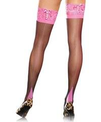 Leg Avenue Κάλτσες - Cuban Heel 2 Tone Stockings LG1039 9ba658b06c2