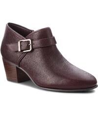 Κλειστά παπούτσια CLARKS - Maypearl Milla 261361484 Aubergine Leather 48a83c4dd9d
