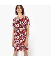 LA REDOUTE COLLECTIONS Εμπριμέ φλοράλ φόρεμα με κουμπί πίσω cade81e4c46