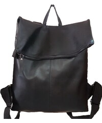Δερμάτινη τσάντα πλάτης από μαλακό δέρμα (ΧΡΩΜΑ ΜΑΥΡΟ) 383c0aa810c
