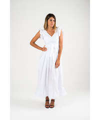 b2b2d1976aeb 2Style Φόρεμα με Τύπωμα - ΛΕΥΚΟ - Glami.gr
