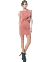 0a0064bb7c80 Stylegr Φόρεμα φούξια σιφόν αέρινο με κόψιμο στα μανίκια - Glami.gr