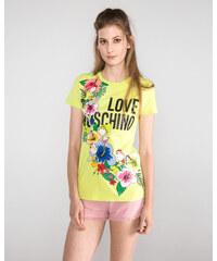 9fe127cc32c2 Women Love Moschino T-shirt Yellow