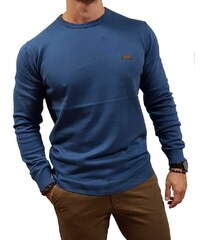 9cab526739f9 Basehit -182.BM70.91 - Dutch Blue - Μπλούζες Πλεκτά