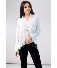 cf3176337276 Λευκά Γυναικείες μπλούζες και πουκάμισα από το κατάστημα ...