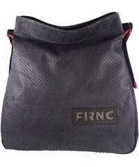 FRNC FRANCESCO Τσάντα Γυναικεία Ώμου 1650 Μαύρο Δέρμα frnc 1650 mauro a4754cb487c