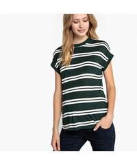 LA REDOUTE COLLECTIONS Κοντομάνικη ριγέ μπλούζα εγκυμοσύνης fc803d56c26