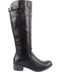 La Coquette Γυναικείες Μαύρες Μπότες με τοκά - Glami.gr 817ac8d0ced