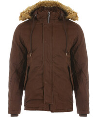 Ανδρικό Μπουφάν Parka Bask Brown Small e0eac76f422