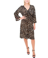 a3d0fb7275ff RAVE Κρουαζέ λεοπάρ φόρεμα - 48-50
