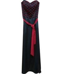 Angelo Maxi πλισέ φόρεμα με ανοίγματα στην μέση - Glami.gr cee03a6895a
