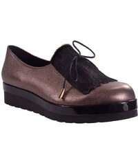 Moods Shoes Γυναικεία Παπούτσια Slip-on 1104 Αμμου Δέρμα moods shoes 11054  ammou b5f4877fec4