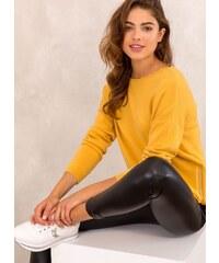 The Fashion Project Πλεκτό με διακοσμητικά φερμουάρ με strass - Μουσταρδί -  013 d50641af89c