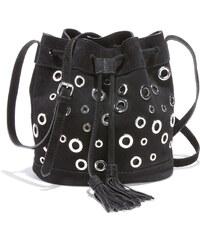 cc67603128e DOCA Δερμάτινη τσάντα πλάτης μαύρη (14418) - Glami.gr