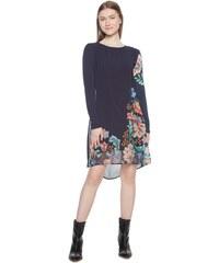 1028ed344a DESIGUAL Μακρυμάνικο Φόρεμα Με Floral Μοτίβο