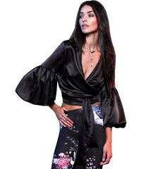 25fcfacb25ee Μαύρα Γυναικεία μπλουζάκια και τοπ από το κατάστημα Abebablom.gr ...