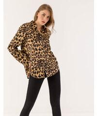 71bd799e622e Issue Fashion Πουκάμισο με λεοπάρ σχέδιο