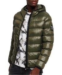 908d22e14155 Superdry - M50002DR 20E - Crater Padded Jacket - Forest Green - Μπουφάν