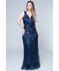 d829b7c8ff1 Μπλε Φορέματα από το κατάστημα Happysizes.gr | 40 προϊόντα σε ένα ...