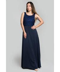 b1ee6e24504c Happysizes Maxi φόρεμα με δαντελένιο λουλουδάτο μπούστο - Glami.gr